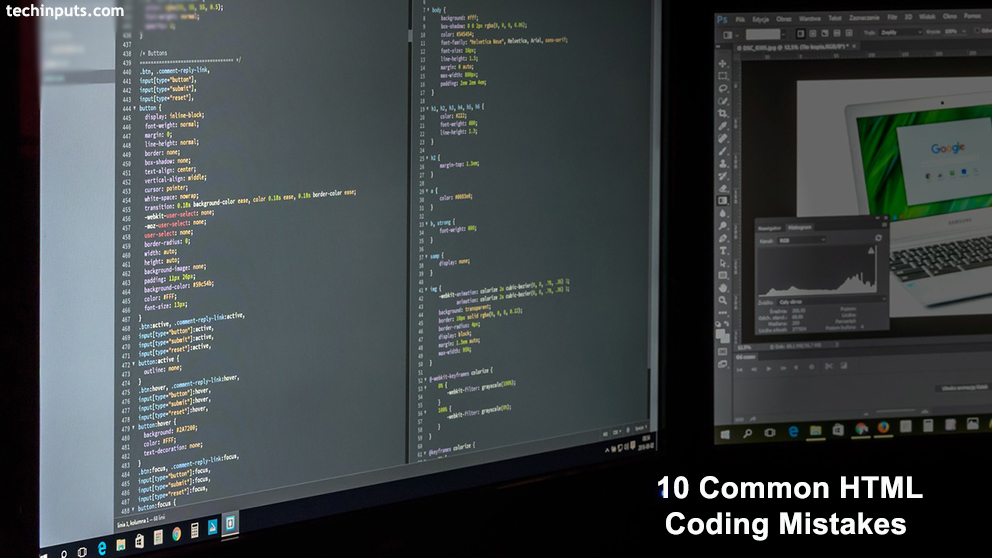 10 Common HTML Coding Mistakes