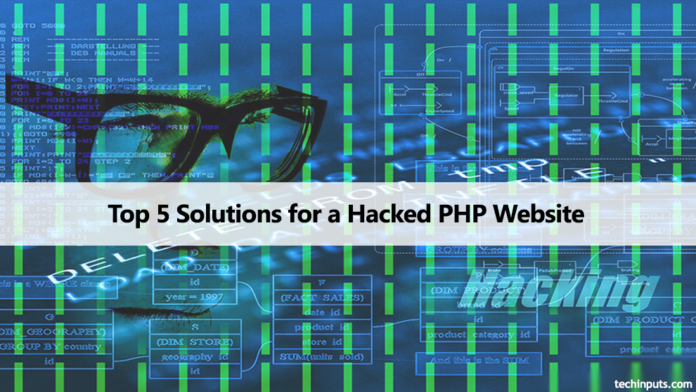 Top 5 Solutions for a hacked php website