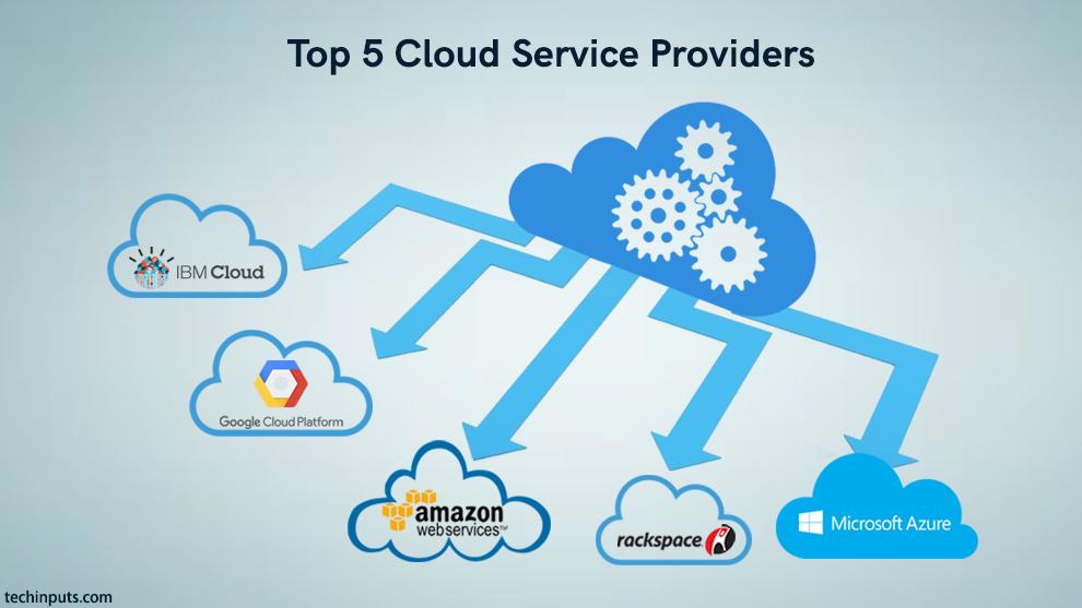 5 Best Cloud Service Providers