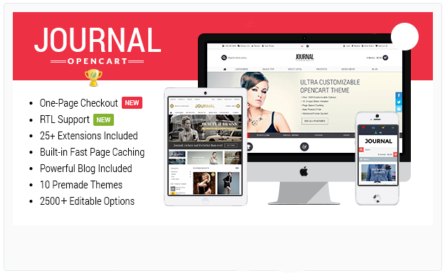 10 best ecommerce themes techinputs journal is a fluid responsive opencart theme built with the best design and development as a top priority it introduces many innovative features and offers maxwellsz