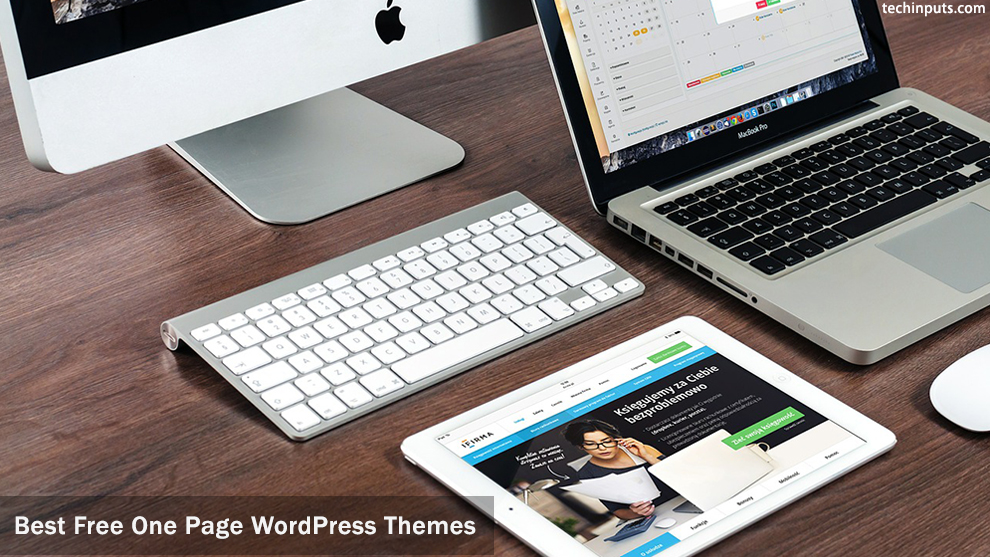 10 + Best Free One Page WordPress Themes